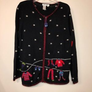 Christmas sweater Cold Water Creek size M